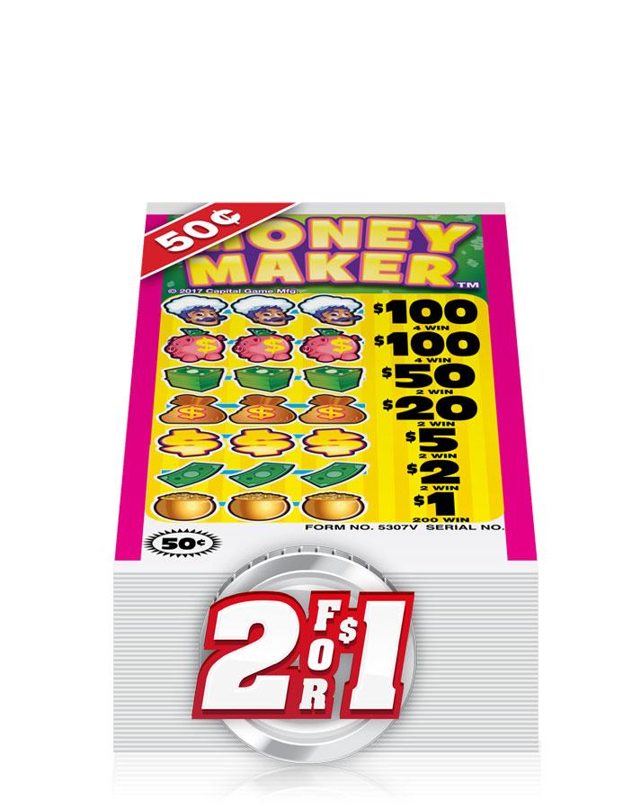 50¢ Pull Tab Tickets